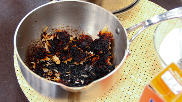 Burnt Jollof Rice