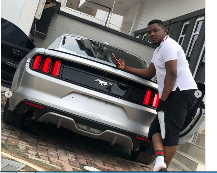 Rapper CDQ buys himself a N12.7m Ford Mustang as Sallah gift