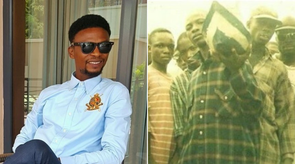 Humble beginnings! Comedian I Go Dye shares throwback photo