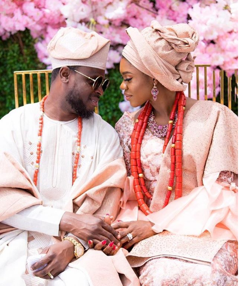 """I found love in you""- Newly married singer,  Becca says as she shares her wedding pictures"
