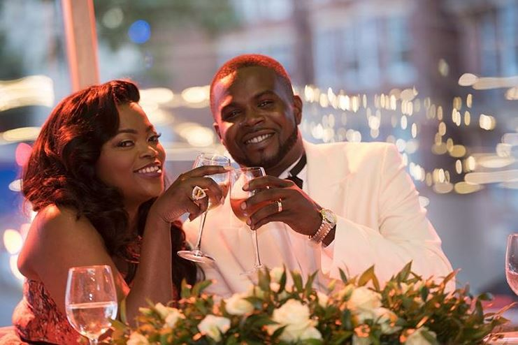 Funke Akindele and husband JJCskillz celebrates 2nd wedding anniversary