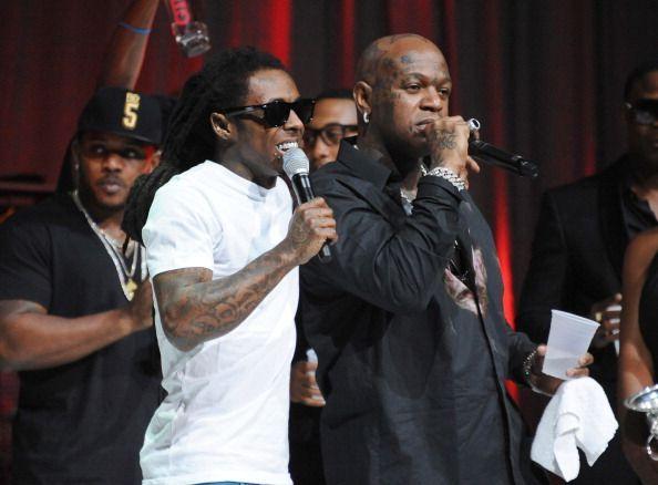 Birdman and Lil Wayne make up at the Lil Weezyana Fest