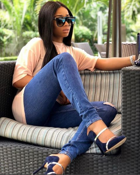 Toke Makinwa has discovered a new talent