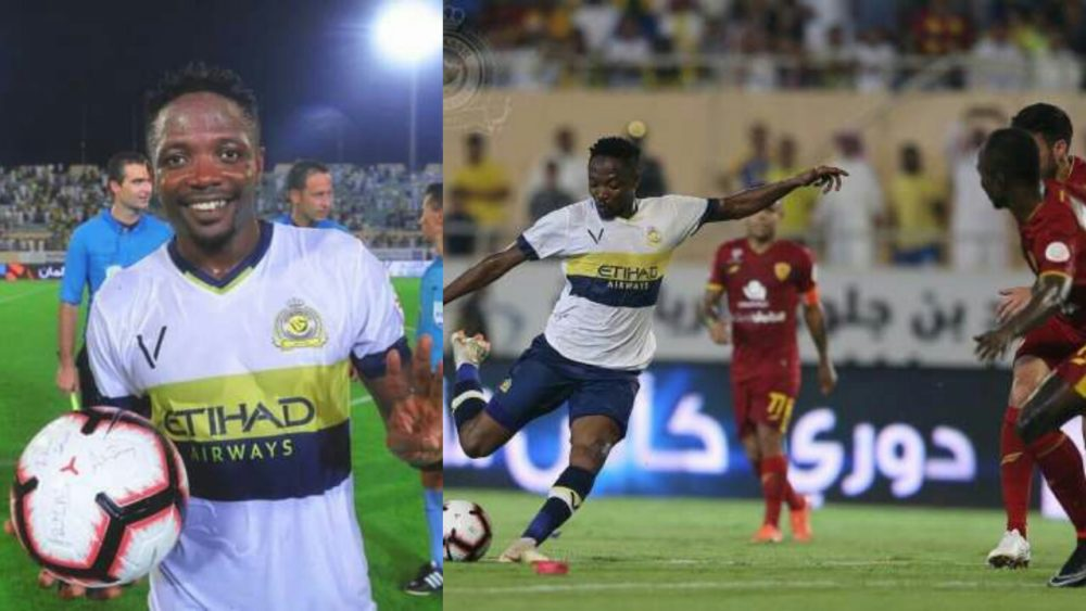 Ahmed Musa scores hat-trick for Al Nassr in Saudi Arabia