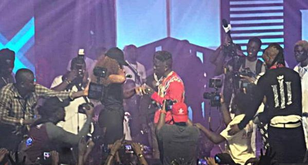 Shatta Wale Proposes To Longtime Partner
