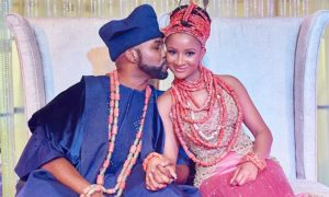 Banky W Praises His wife, Adesua, As They Celebrate One Year Anniversary
