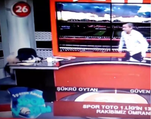 Sukru Oytan: TV news presenter Collapses As He Suffers Heart Attack On Live TV