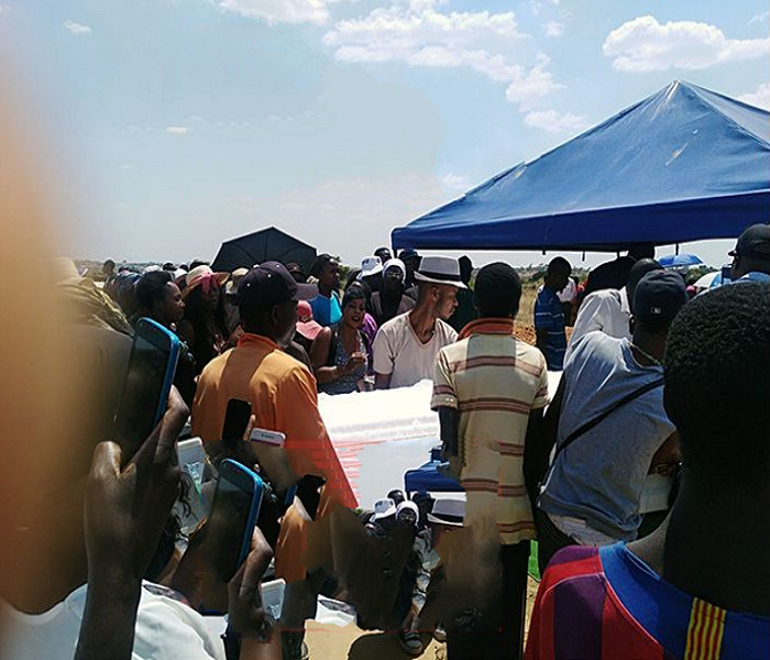 Drama Ensue As Sex Workers Clash With Priest At Their Colleague's Burial