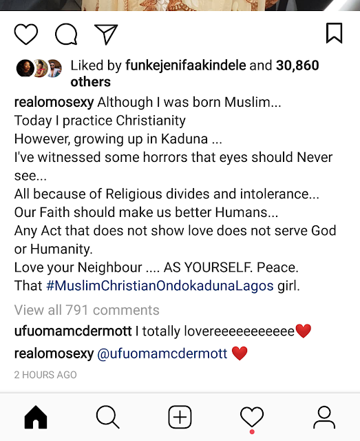 Omotola muslim