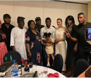Mikel Obi and his family in Nigeria, wife experiences culture shock