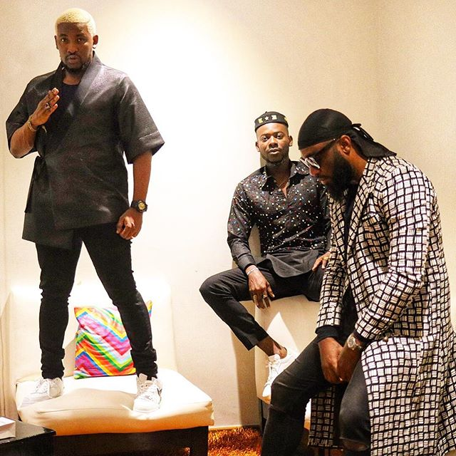 Wizkid showed love by performing at Olamide Show