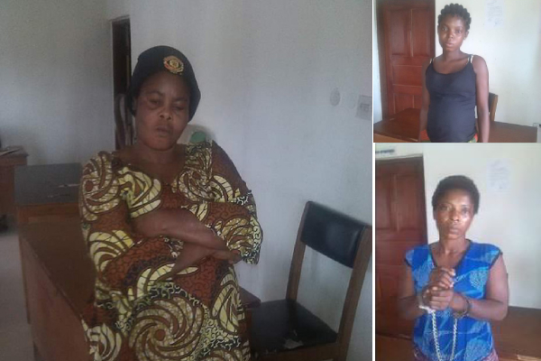 Three Women Sentenced To Jail For Attempting To Sale Fellow Human. Photos