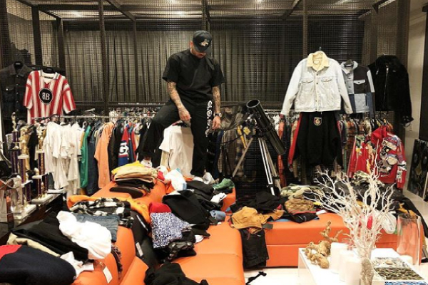 Chris Brown shows off closet, complains he's out of space for his clothes (Photo)