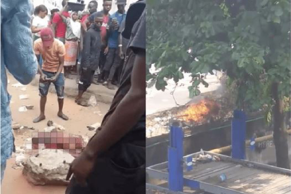 conductor burn for stabbng passenger for just N50