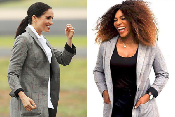 Serena Williams sends Duchess Meghan clothes, Grateful For Promoting Her Brand