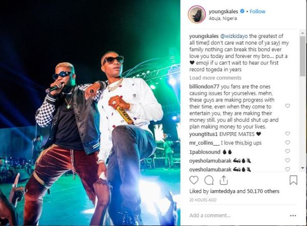 Wizkid is the greatest of all time - skales