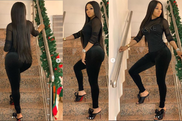 """I hated my body and I fixed it, Best decision Ever this Year""- Toke Makinwa"