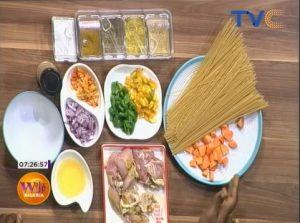 How To Prepare Spaghetti and Yaji Infused Chicken Curry   Wake Up Nigeria
