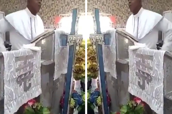 Nigerian Pastor Goes Viral as He preaches using the F-Word