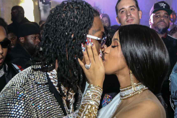 CARDI B AND OFFSET ARE NOW BACK TOGETHER!