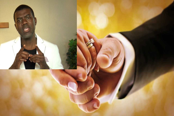 Don't Marry Someone You Are In Love With, Marry A Person You Are In Sync With - Reno Omokri