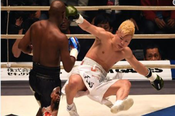 Floyd Mayweather Makes N32 Million In Two Minutes Defeating Tenshin Nasukawa