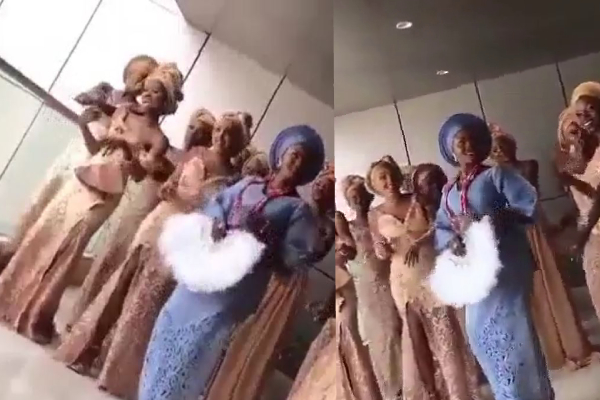 simi dance with her people
