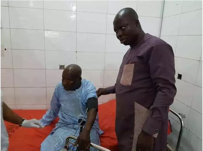 Nigerian Yoruba Actor Baba Suwe admitted at LUTH