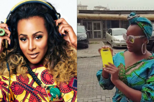 'I Will Make An Excellent Wife' - DJ Cuppy Brags, After Showing Off Her New Phone