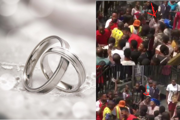 Bride chases her fiancé to Robinson plaza after being dumped at the altar