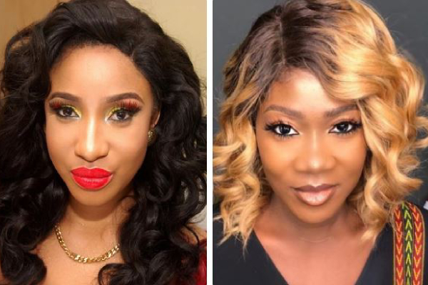 'I HAVE ALWAYS BEEN A HUGE FAN' -TONTO DIKEH TELLS MERCY JOHNSON