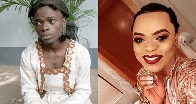 Bobrisky before and after photos