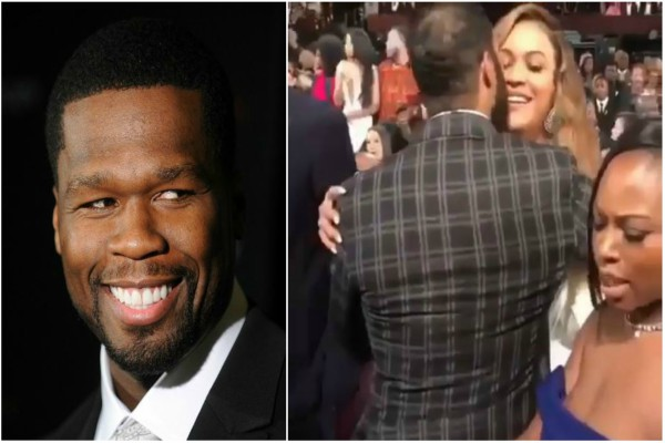 50Cent Reacts To Ghost's 'Inappropriate' Beyonce Kiss