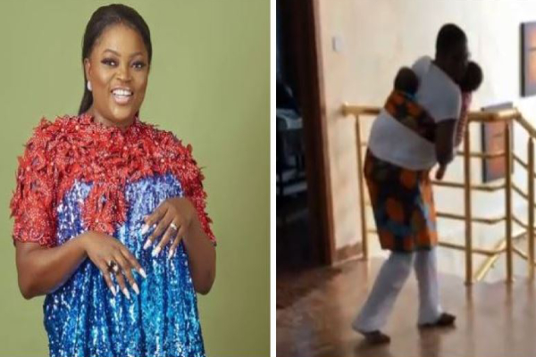 funke akindele dance with her twins