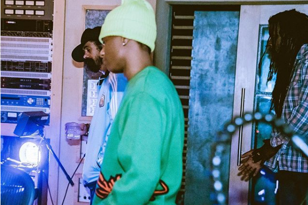 wizkid and Damian marley