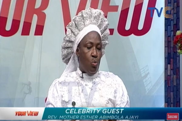 Rev. Esther Ajayi Reacts To Daddy Freeze's Advise To Church