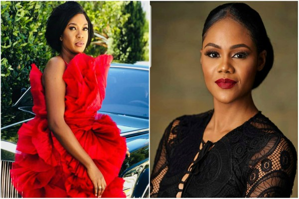 Omoni Oboli stands with Busola Dakolo BUT ...
