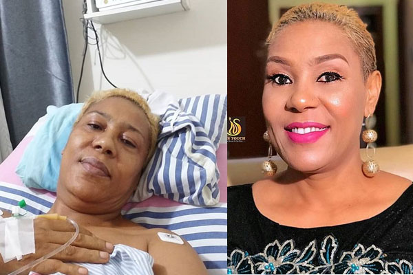 """""""I've been battling a spine disease for so many months now'' Shan George reveals"""
