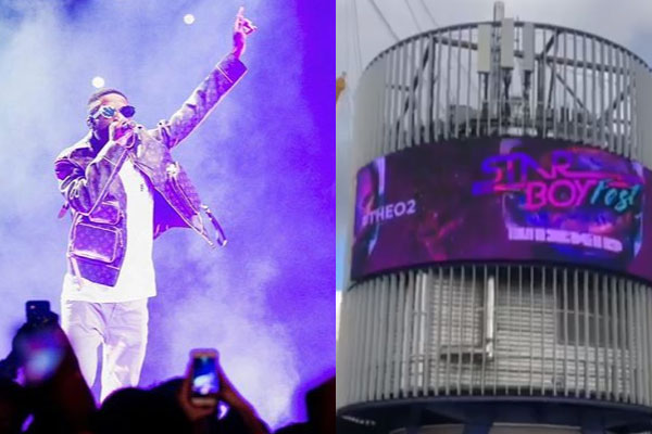 Wizkid shuts down the O2 arena with a line-up of artists for the second time [Photos and videos]