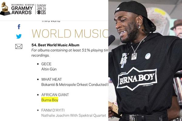 Best Album 2020.Breaking News Burna Boy S African Giant Album Has Been