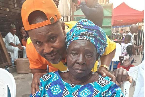Nollywood actor, Saidi Balogun loses mum