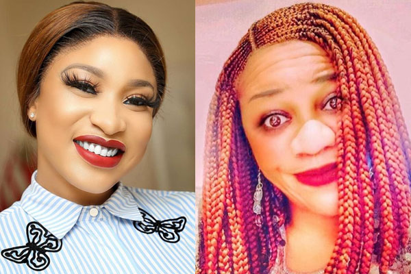 Nollywood actress, Tonto Dikeh and popular blogger, Stella drag each other dirty on social media