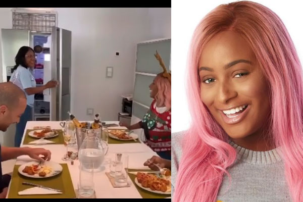 DJ Cuppy suprises her manager with N500k cash stocked in the fridge