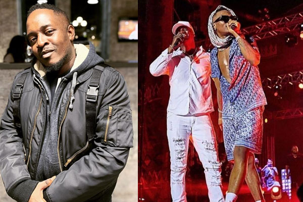 Rapper MI reacts after Akon addressed Wizkid as 'lil bro' at Afronation in Ghana
