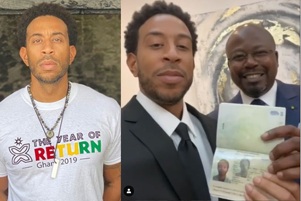 American rapper, Ludacris excited as he becomes a citizen of Gabon