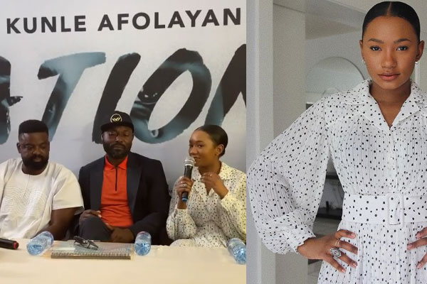 Billionaire, Femi Otedola's daughter, Temi is set to appear in her on-screen debut in the movie, Citation.