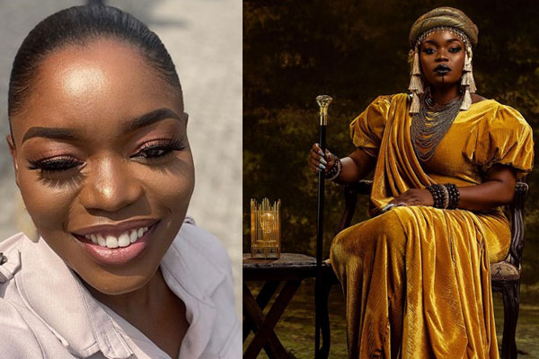 Bisola Aiyeola celebrates her birthday with a Queen Amina themed Photo shoot