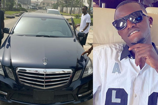 Davido's P.A, Aloma acquires a Benz