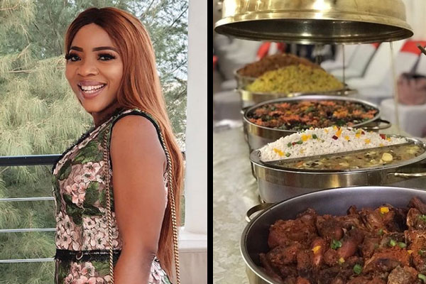 Sandra Ikeji calls out caterer who served at her wedding