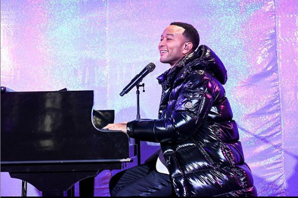 US singer, John Legend is Nigeria for a private performance